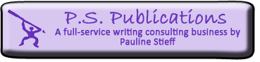 P.S. Publications is a full-service writing consulting busienss.